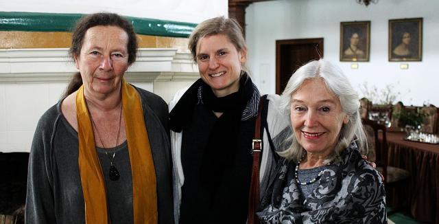 na fot. od lewej: Doris Buchrucker / aktorka, Anna Martinetz / reżyser filmu oraz Katalin Zsigmondy / aktorka